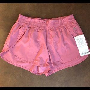 Lululemon tracker shorts size 12 lush pink